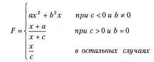 Функция F. Шестой вариант. Разветвляющиеся программы